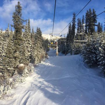 Big White Canada Scenery