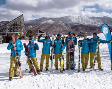 Shiga Kogen Japan group ski uniform 3
