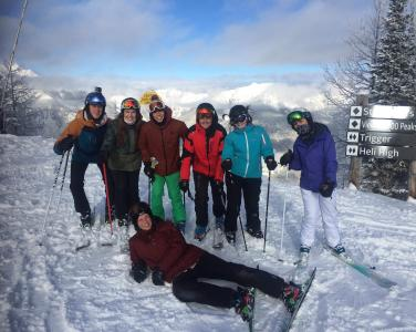 Norquay Canada intern group instructor 3