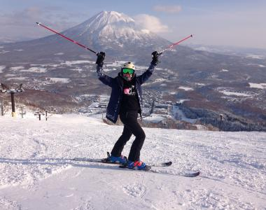 Niseko Japan Ski Internship Emily