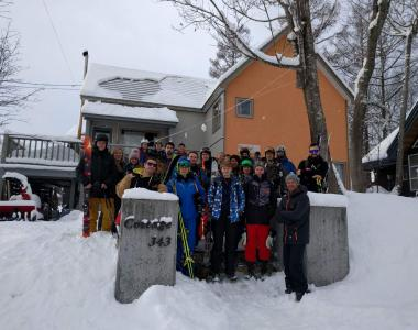 Niseko Japan group