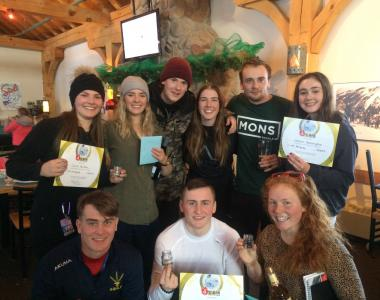 Norquay Canada intern group instructor 1