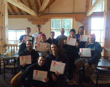 Norquay Canada intern group instructor 4