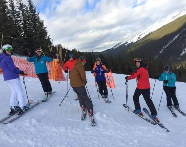 Norquay Canada intern ski instructor 4