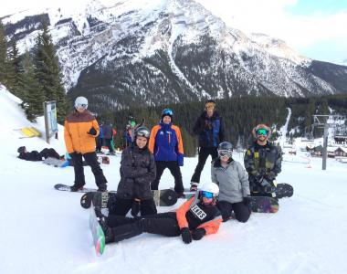 Norquay Canada intern snowboard instructor 1