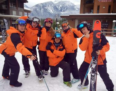 Revelstoke Canada group ski uniform