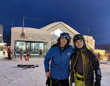 instructor go snow japan