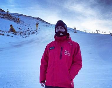 Mikey Hazzard Snowboard Instructor New Zealand Coronet Peak