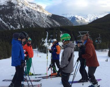 Norquay Canada intern ski instructor 3