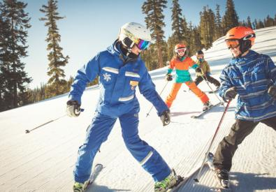 Northstar California USA uniform instructor ski 5