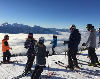 HERO Revelstoke Canada training uniform group ski